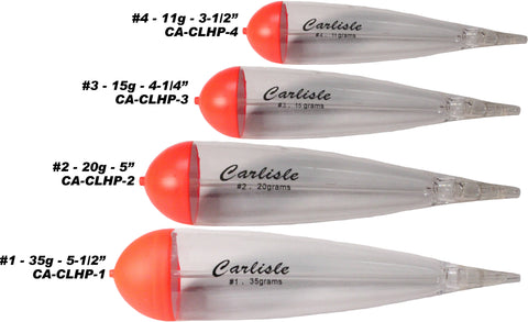 Carlisle Steelhead - Husky Slip Floats - 2 Pack