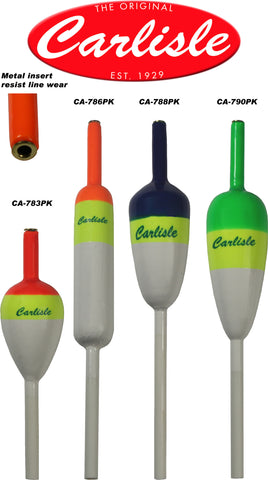 Carlisle Peacock Slip Floats - 6 Pack