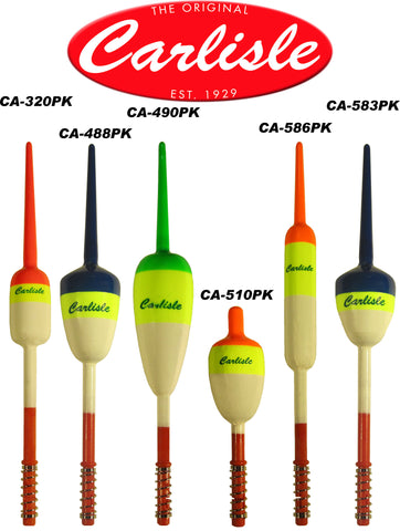 Carlisle Peacock Spring Floats - 6 Pack