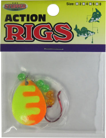 Walleye Tiger Rigs - 6 & 1 Packs Available