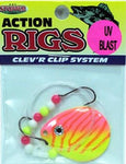 UV Blast Walleye Rigs - Colorado Blade - 6 Pack
