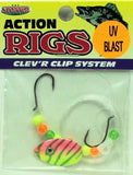 UV Blast Walleye Rig - Minnow Rig - 6 & 1 Packs Available