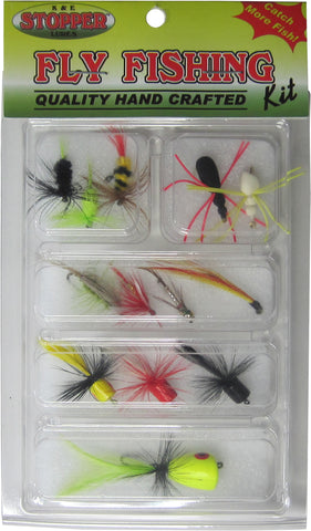 Panfish & Trout - Freshwater Fly Fishing Kits, Ast