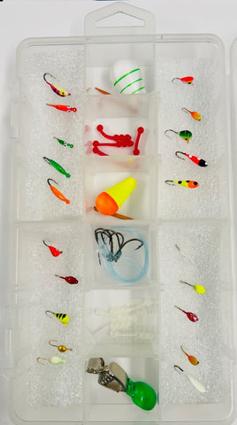 Assorted Specie Specific Ice Kits - Bluegill, Perch, Walleye & Crappie