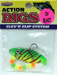 UV Blast Walleye Rigs - Willow Blade - 6 & 1 Packs Available