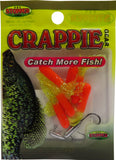 Crappie Tubes - 6 Tubes & 2 Tube Heads