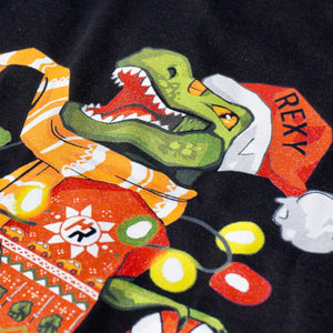 Christmas Sweater Rexy Edition (Black)