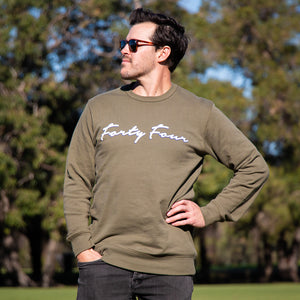 Forty Four Signature Army Sweater