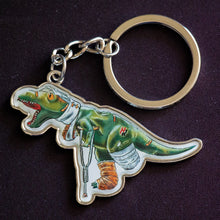 Load image into Gallery viewer, Rexy Keychain