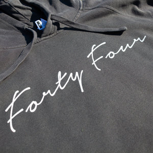 Forty Four Signature Hoodie (Coal)