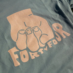 Fist Crushing Forty Four Shirt (Sage Green)