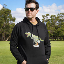 Load image into Gallery viewer, Hoodie with Original Rexy (Black)
