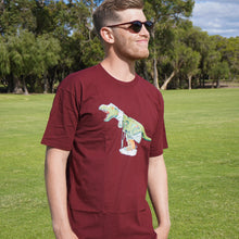 Load image into Gallery viewer, Burgundy Original Rexy Shirt