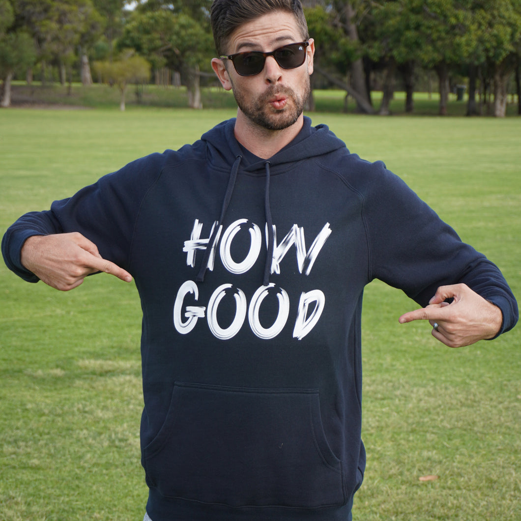 Navy How Good Hood