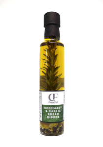 ROSEMARY & ROAST GARLIC EXTRA VIRGIN OLIVE OIL BREAD DIPPER – 250ml
