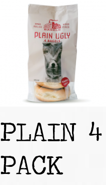 Best Ugly Bagels - Plain Bagel 4 pk