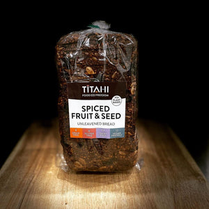 TITAHI Spiced Fruit and Seed Loaf (unleavened)
