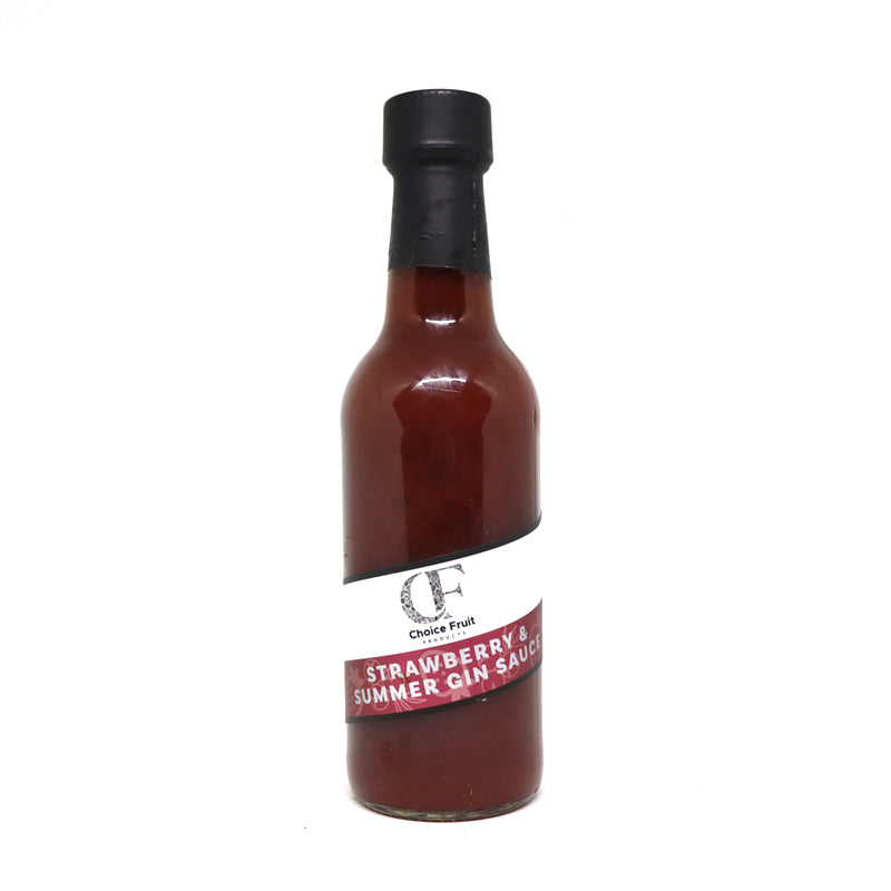 STRAWBERRY & SUMMER GIN SAUCE – 250ml