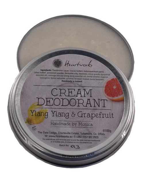 Bentonite Clay in our Cream Deodorants