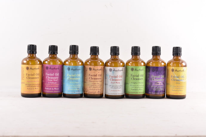 All Natural Facial Oil Cleansers made with Organic Oils