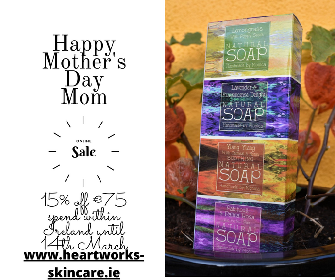 Mother's Day Gift Sets of Natural Skincare