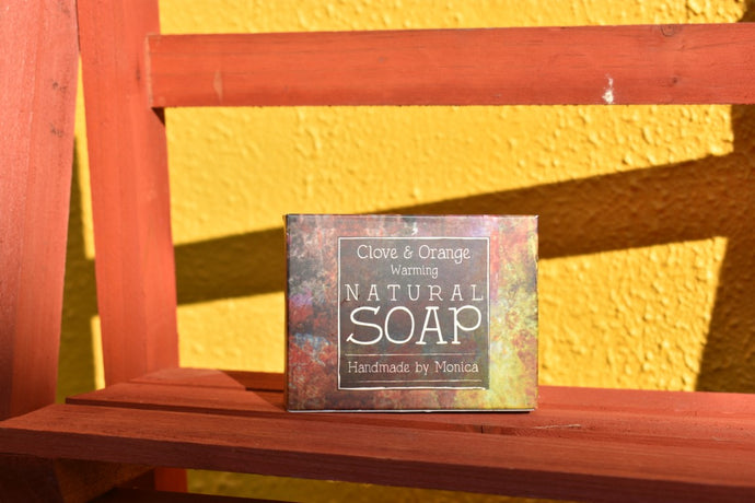 Natural Soap Clove & Orange