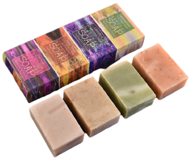 Zero Waste Packaging for our Handmade Soaps