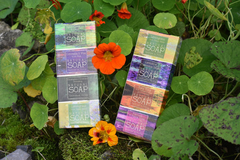 Palm free soaps in a gift set