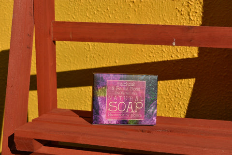 Patchouli and Palma Rosa Natural Handmade Soap