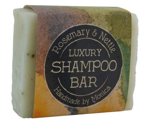 rosemary and nettle shampoo bar