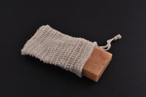 sisal soap bag for your natural soap