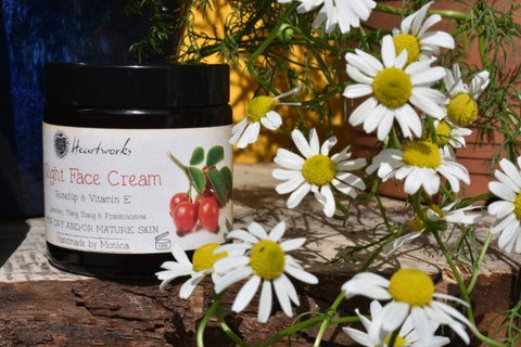 face cream with frankincense