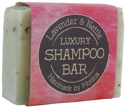natural shampoo bar lavender and nettle