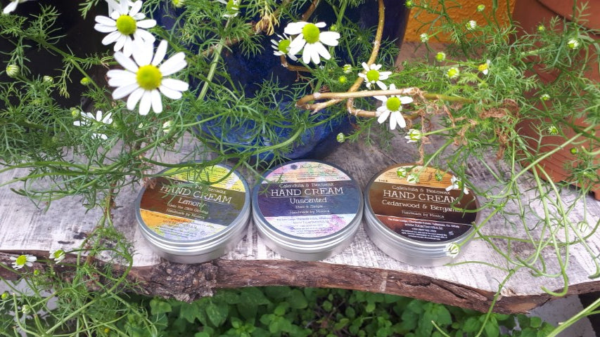 natural beeswax and calendula hand cream