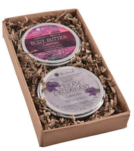 Load image into Gallery viewer, natural body butter and cream deodorant gift set