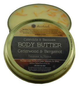 Natural Calendula and beeswax body butter