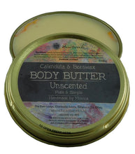 Load image into Gallery viewer, Natural Calendula and beeswax body butter