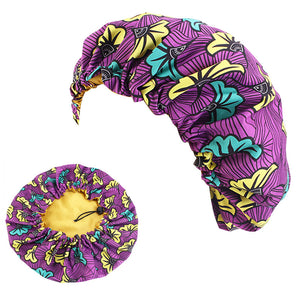Purple Bouqet Bonnet Regular Size - ICPLLC