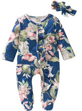 Load image into Gallery viewer, Le Petite Fleur Pajamas (3 Color Options)