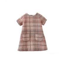 Load image into Gallery viewer, Plaid Dress, with Pockets