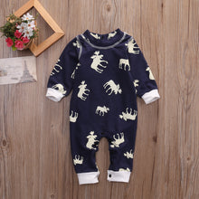 Load image into Gallery viewer, Moose Romper