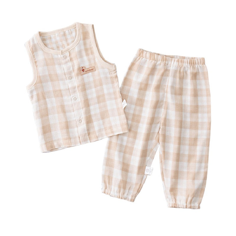 Easy Breezy Gingham Set