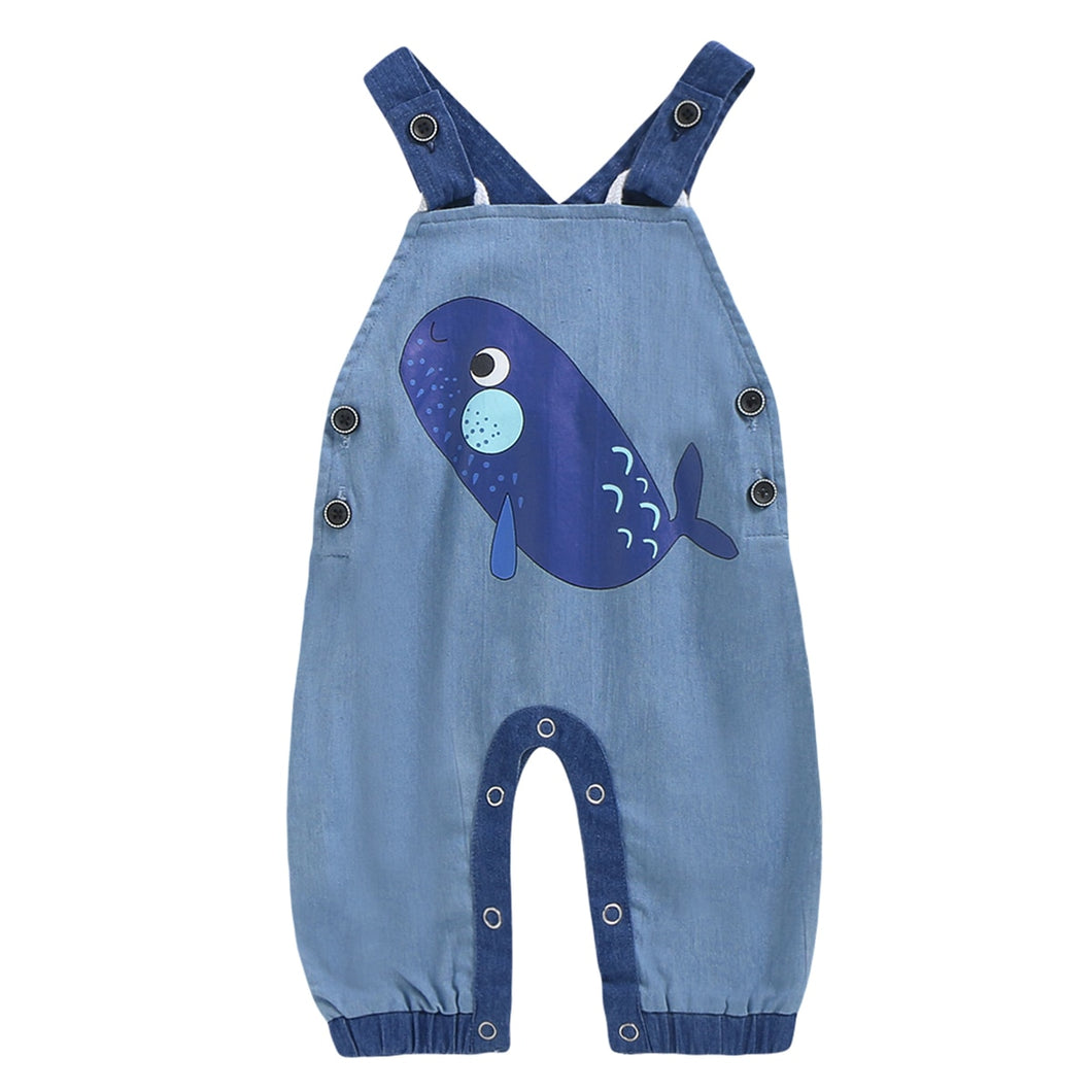 Whale Overalls