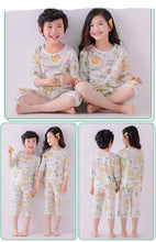 Load image into Gallery viewer, Organic Camping PJ Set (Top+Pant)