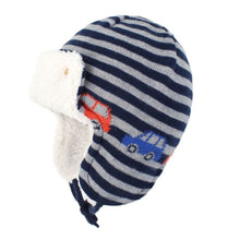 Load image into Gallery viewer, Knitted Fleece Hat (4 Prints)