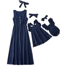 Load image into Gallery viewer, Mommy & Me Prairie Dress (Mix n Match! 6 Color Options)