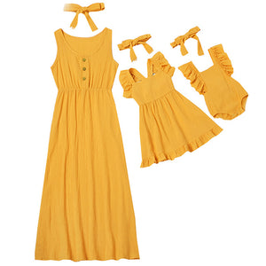 Mommy & Me Prairie Dress (Mix n Match! 6 Color Options)