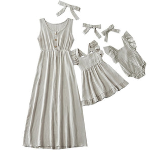Mommy & Me Prairie Dress (6 Color Options)