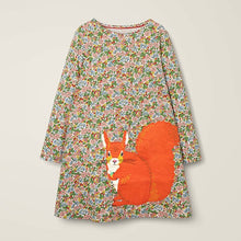 Load image into Gallery viewer, Squirrel T-Shirt Dress