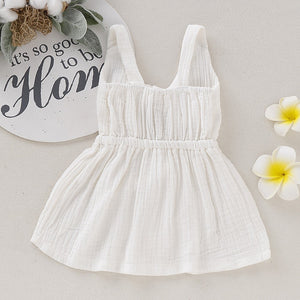 Organic Cotton Sun Dress (4 Color Options)